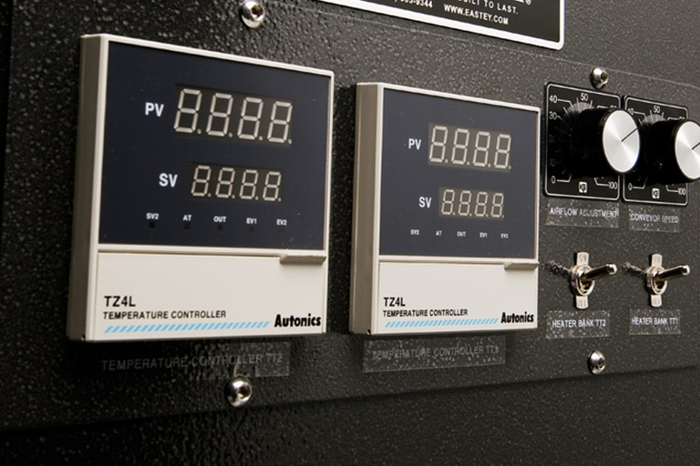 Easy to use control panel lets users adjust for their specific application.